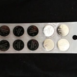 Panasonic - ボタン電池 CR2032  10個セット