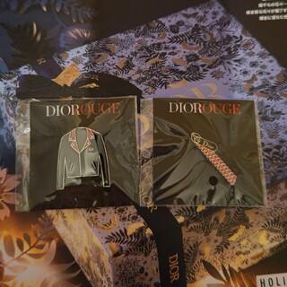 Dior - 激レア  超お得  新品  ディオール ブローチ 2点セット