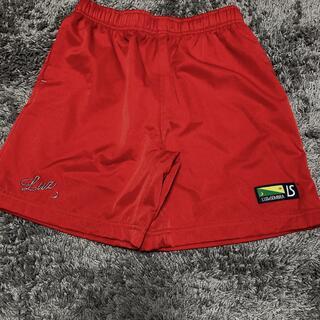 ルース(LUZ)の美品!ルースイソンブラ⭐︎パンツ 150 赤 ジュニア サッカー フットサル (ウェア)