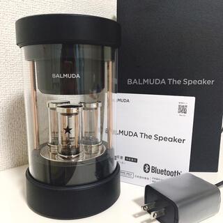 BALMUDA - 新品同様!バルミューダ スピーカー The Speaker M01A-BK