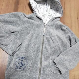 セラフ(Seraph)のセラフseraph110パーカーディガン羽織り物美品グレー女の子人気完売(カーディガン)