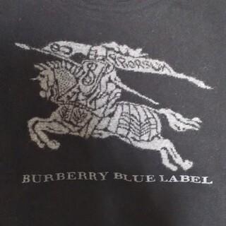バーバリーブルーレーベル(BURBERRY BLUE LABEL)のBURBERRY BLUE LABELの黒ニット(ニット/セーター)