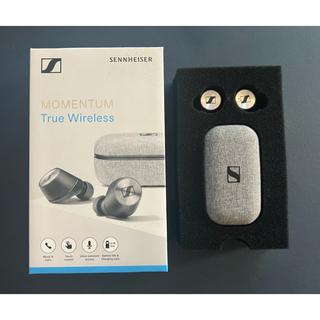 ゼンハイザー(SENNHEISER)の【美品】SENNHEISER Momentum True Wireless(ヘッドフォン/イヤフォン)