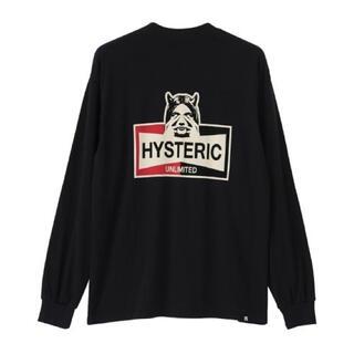 ヒステリックグラマー(HYSTERIC GLAMOUR)のHYSTERIC UNLIMITED Tシャツ(Tシャツ/カットソー(七分/長袖))