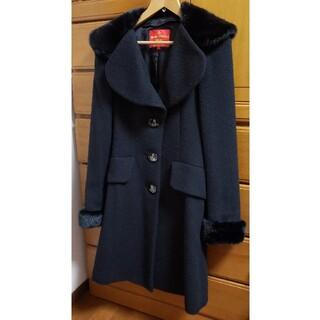 ヴィヴィアンウエストウッド(Vivienne Westwood)のヴィヴィアンウエストウッド ラブ襟 ウール ロングコート(ロングコート)