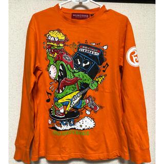 ローリングクレイドル(ROLLING CRADLE)のROLLING CRADLE オレンジ 長袖Tシャツ(Tシャツ/カットソー(七分/長袖))