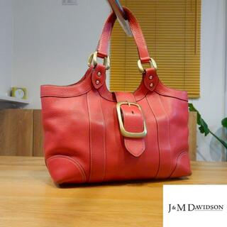 J&M DAVIDSON - J&M Davidson オールレザー ショルダーバッグ/トートバッグ