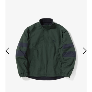 FRED PERRY - FRED PERRY リバーシブルハーフジップブルゾン