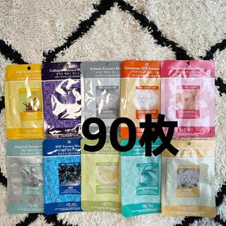 韓国パック フェイスパック MJCARE MIJIN 90枚(パック/フェイスマスク)