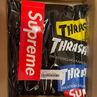 Supreme - Supreme®/Thrasher® Multi Logo L/S Tee