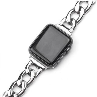 アップルウォッチ(Apple Watch)のApple Watchバンドチェーン シルバー 人気(腕時計)
