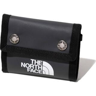 ザノースフェイス(THE NORTH FACE)の【新品未使用】THE NORTH FACE BC Dot Wallet グレー(折り財布)