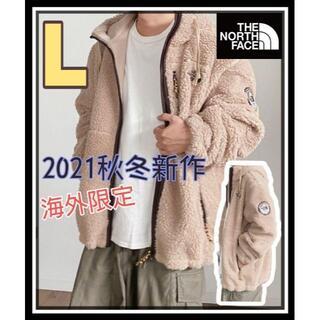 THE NORTH FACE - 新作★完売品 ノースフェイス ボアフードジャケット キャメルL ホワイトレーベル