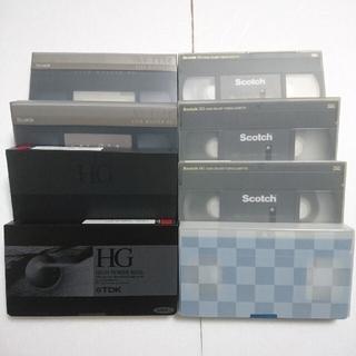 上書き用 VHS ビデオテープ 使用済 リサイクル(その他)