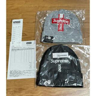 シュプリーム(Supreme)の【セット】Supreme Cross Box Logo Beanie 2つセット(ニット帽/ビーニー)