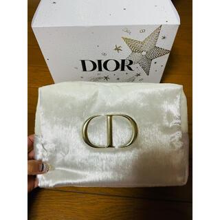 Dior - クリスマスコフレ ポーチ 新品未使用 クリスチャンディオール 非売品