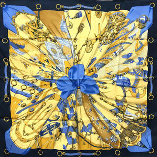 Hermes - HERMES スカーフ エルメススカーフ カレ90 シルクの太陽