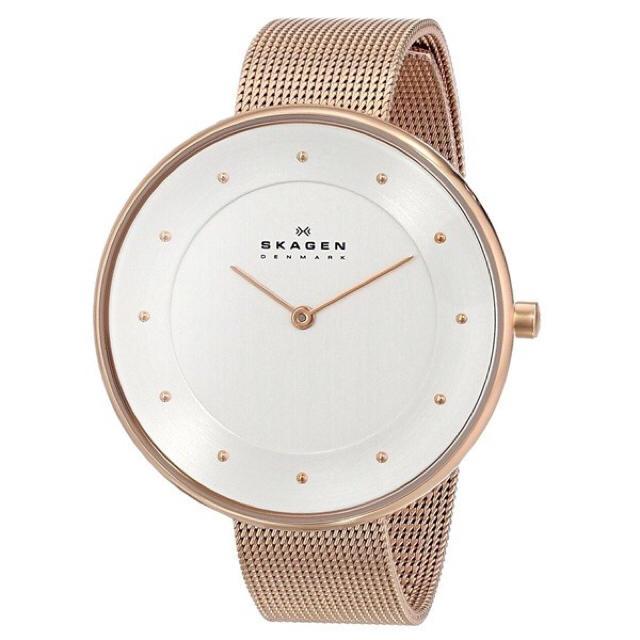 SKAGEN(スカーゲン)の【人気再入荷】スカーゲン 腕時計 レディース SKW2142 ピンクゴールド レディースのファッション小物(腕時計)の商品写真