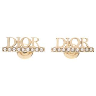 Christian Dior - クリスチャンディオール スタッド ピアス ゴールド 金 40802003876