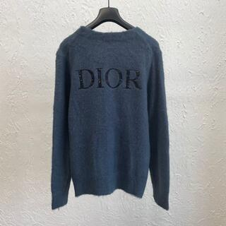 Dior - DIOR×PETER DOIG*テクニカルモヘアバックロゴカーディガン