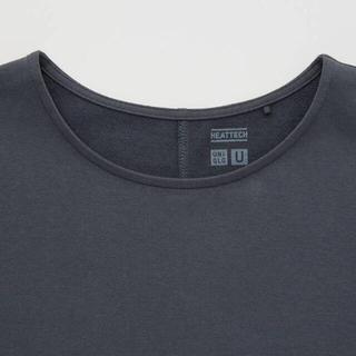 UNIQLO - ■ヒートテックコットンクルーネックT(長袖)ブラック  L