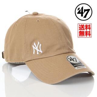 NEW ERA - 【新品】47 キャップ NY ヤンキース 帽子 ベージュ レディース メンズ