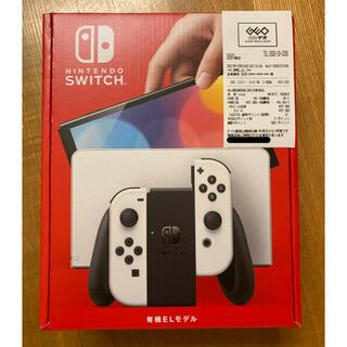 Nintendo Switch - 【新品未開封 保証書付】Nintendo Switch ホワイト有機ELモデル