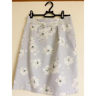 ミッシュマッシュ(MISCH MASCH)のMISCH MASCH 花柄スカート(ひざ丈スカート)
