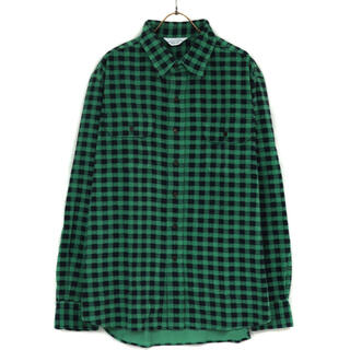 アンユーズド(UNUSED)のHound tooth corduroy shirt  UNUSED(シャツ)