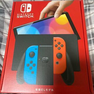 Nintendo Switch - 【新品未使用未開封】ニンテンドースイッチ有機EL  ネオンブルー/ネオンレッド