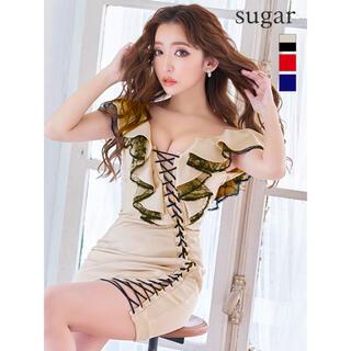 AngelR - 15659*IRMA*スピンドルレースアップ/シアー切替ドレス