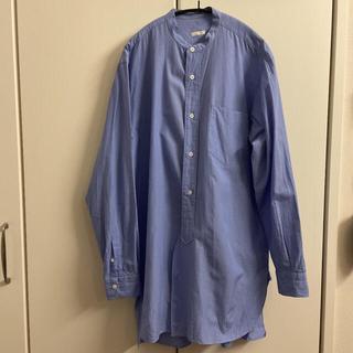 COMOLI - comoli バンドカラーシャツ サイズ1 20ss