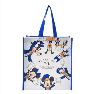 Disney - 【新品】20周年記念のミッキー&フレンズ ディズニーショッピングバック