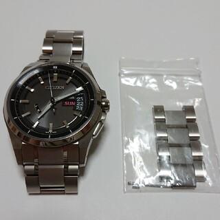 シチズン(CITIZEN)のシチズン アテッサ エコ・ドライブ ソーラー 電波時計 AS7100-59E(腕時計(アナログ))