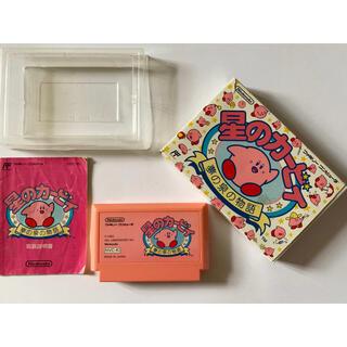 ファミリーコンピュータ(ファミリーコンピュータ)のファミコン 星のカービィ 夢の泉の物語 Famicom FC Kirby(家庭用ゲームソフト)