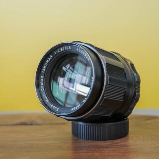 ペンタックス(PENTAX)の【光学美品】SMC Takumar 105mm f2.8 希少な中望遠(レンズ(単焦点))