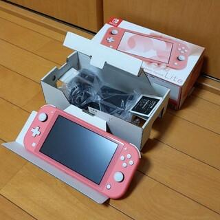 Nintendo Switch - SWITCH Lite 本体 ピンク