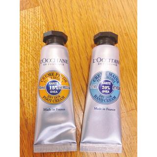 L'OCCITANE - ロクシタン ハンドクリーム フットクリーム 10ml各