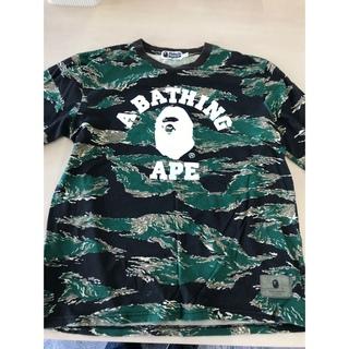 アベイシングエイプ(A BATHING APE)のA BATHING APEロンT(Tシャツ/カットソー(七分/長袖))