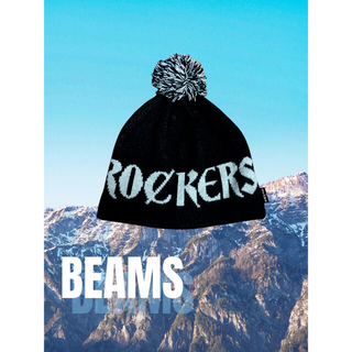 ビームス(BEAMS)のBEAMS ニットキャップ スノボ(ニット帽/ビーニー)