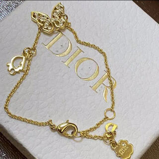 Christian Dior - Dior♡ブレスレット 美品 蝶モチーフ