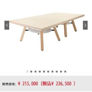 バタフライ(BUTTERFLY)のガラージ x 三英 ピンポンワークテーブル 幅152.5cm 高さ76cm (卓(卓球)