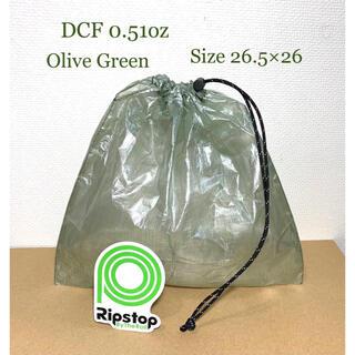 DCF 0.51ozオリーブグリーンスタッフサック(巾着型)