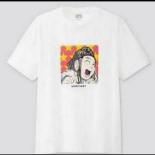 UNIQLO -  白 ゴールデンカムイ コラボ グラフィックTシャツ  アシリパさん  ユニクロ