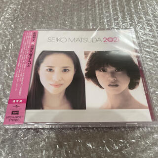 松田聖子 続・40周年記念アルバム 「SEIKO MATSUDA 2021」新品
