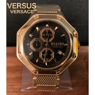 ジャンニヴェルサーチ(Gianni Versace)の☆新品・日本未発売☆ヴェルサスヴェルサーチ クロノグラフ メンズ腕時計(腕時計(アナログ))