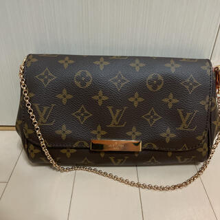 LOUIS VUITTON - ルイヴィトン フェイボリットpm チェーンショルダーバッグ