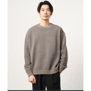 コモリ(COMOLI)のcrepuscule Moss stitch L/S sweat(ニット/セーター)