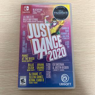 Nintendo Switch - just dance ジャストダンス2020 switch ソフト