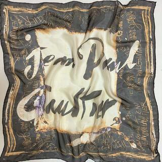 ジャンポールゴルチエ(Jean-Paul GAULTIER)のシルクスカーフ イタリア製 ジャンポールゴルチェ(バンダナ/スカーフ)